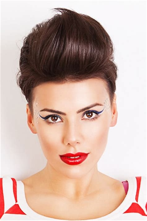 hairstyles for long hair quiff quiff hairstyles for women
