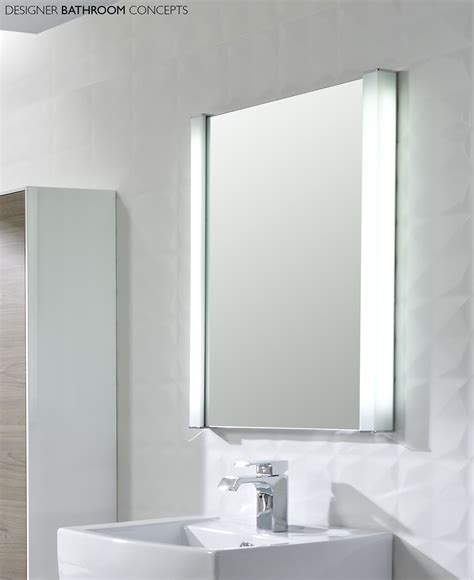 Mirror Lights For Bathrooms 28 Bathroom Lighting Bathroom Mirror Led Rectangular Mirror Light In Matt Nickel Or