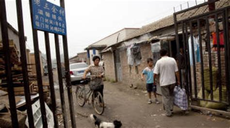 beijing brothel in the slum 187 keeping out prying inside china s gated