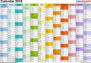 2018 Calendar In Excel Excel Calendar 2018 Uk 16 Printable Templates Xls Xlsx