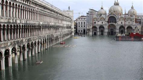 Geologie Venedig Geht Unweigerlich In Der Lagune Unter Welt