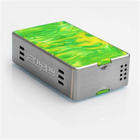 Aleader Funky 160w Authentic authentic aleader funky 160w silver ss resin tc vw box mod