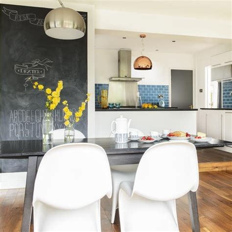 blackboard paint screwfix kitchen take a tour of this 1960s house in