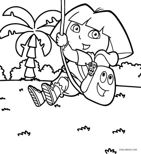 dora coloring pages free printable free printable dora coloring pages for kids cool2bkids