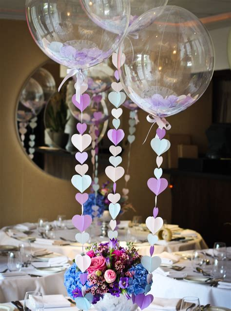ultimate balloon centerpiece ideas  weddings