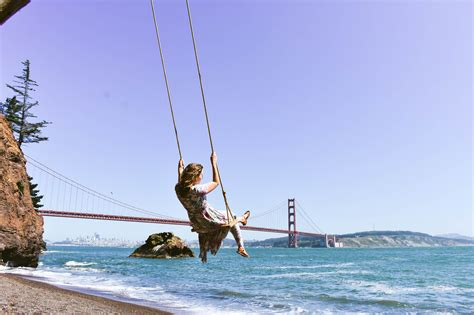 Kirby Cove Swing San Francisco The Together Traveler