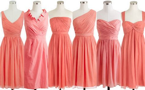 salmon colored dress salmon colored bridesmaid dress www imgkid the