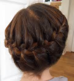 plait at back of hairstyle yummy mummy survival girls hairstyles wrap around
