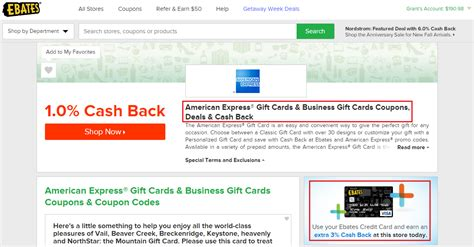 Can I Get Cash From American Express Gift Card - intro to the ebates cash back credit card and targeted cash back offers