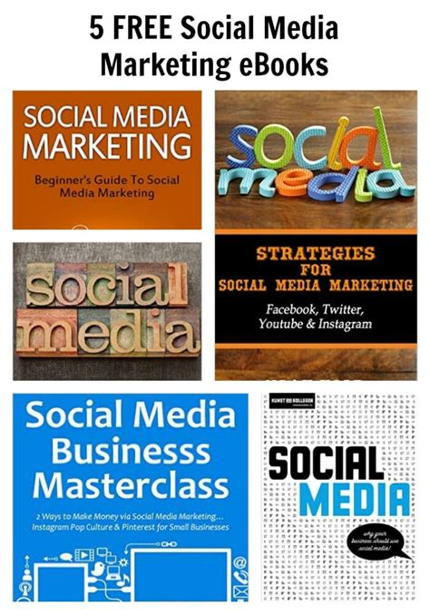 social media marketing books 5 free social media marketing ebooks thinking outside