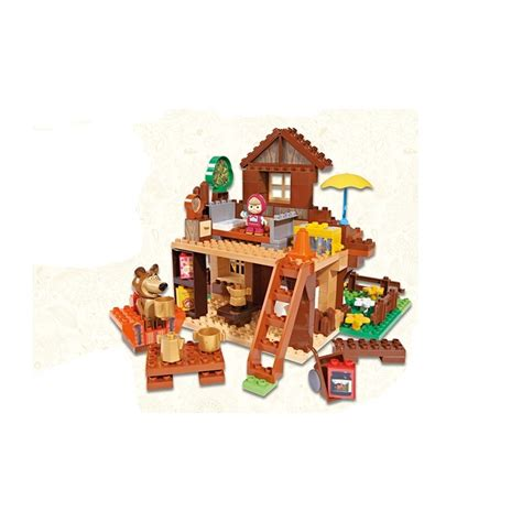 orso casa masha e orso casa di orso costruzioni simba giocattoli