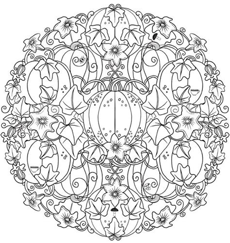 autumn mandala coloring pages best 25 mandala halloween ideas on pinterest