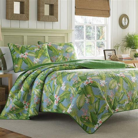 Tropical Quilt Set by Bahama Aregada Dock Blue Sky Quilt Set House