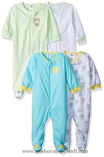 4 Month Baby Boy Clothes by Baby Boy Clothes Gerber Baby 4 Pack Sleep N Play Duck