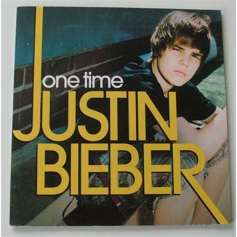 justin bieber one time jibjab one time by justin bieber cds with dom88 ref 116119266