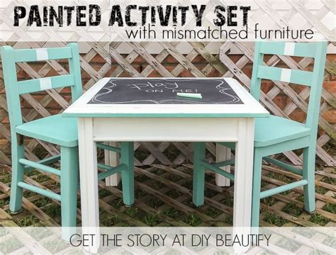 diy toddler activity table create an activity table set for with mismatched