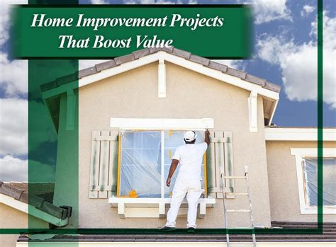 home improvement projects that boost value
