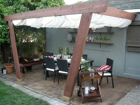 Patio Canapy by Patio Covers And Canopies Hgtv