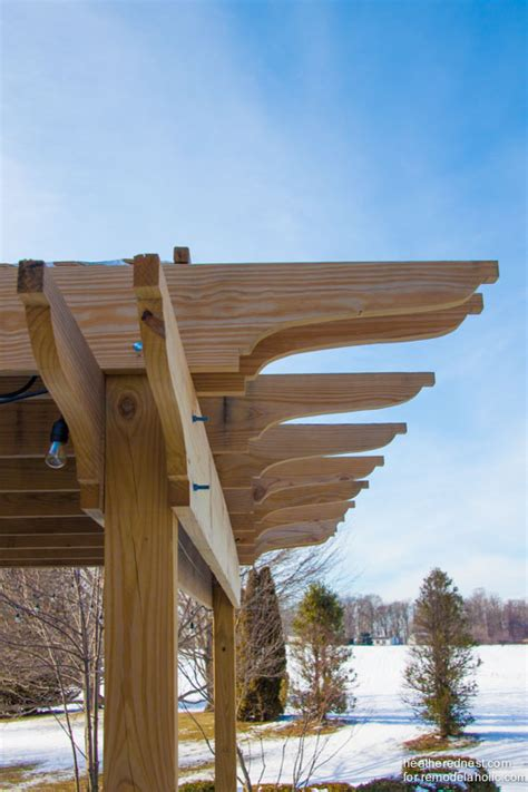 how to make your own pergola remodelaholic diy pergola tutorial how to build your