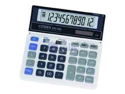 Kalkulator Citizen Sdc 868 L Up Calculation citizen calculator sdc 868l 12d 2power largest office