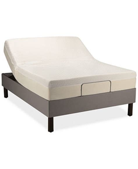 tempur pedic adjustable beds tempur pedic up twin xl adjustable base mattresses macy s