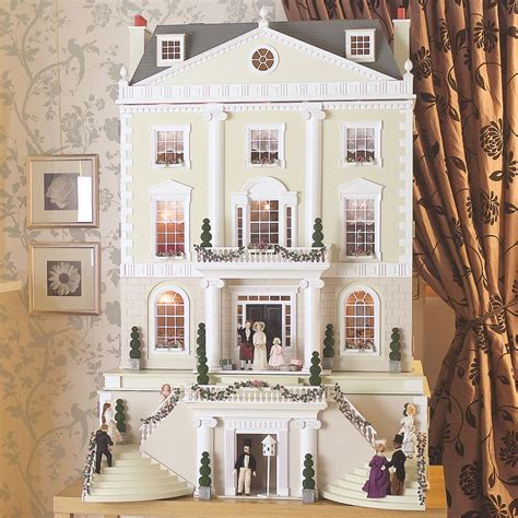 doll s house grosvenor hall unpainted dolls house by dolls house emporium 1739 hobbies