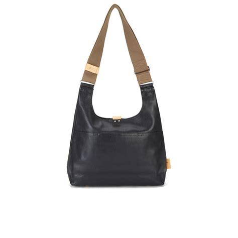 Stradi Black Sling Bag orla kiely s stem leather midi sling bag black
