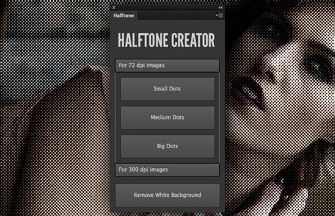 where is halftone pattern in photoshop cs6 halftone creator photoshop plugin medialoot