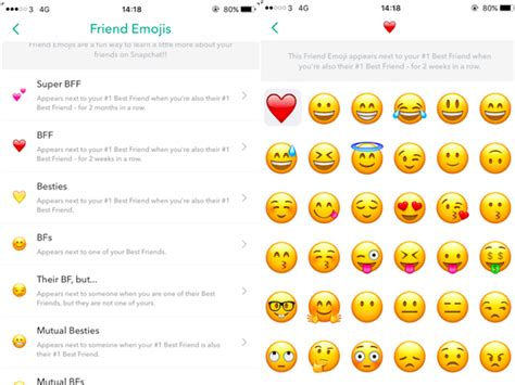 friends emoji here s what snapchat s friend emojis actually mean