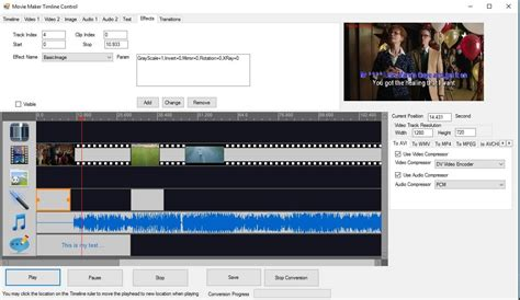 windows 7 movie maker tutorial timeline movie maker timeline control sdk full windows 7 screenshot
