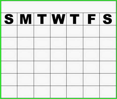 saturday through friday calendar template calendar