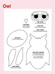 Free printable owl crafts templates printable box tops collection