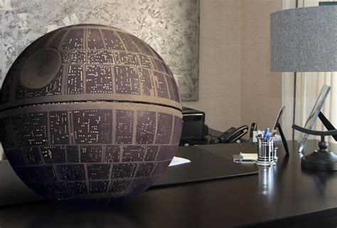 Tiki Home Decor star wars death star handmade prop replica the green head