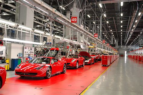 ferrari factory dream factory car gallery super cars autocar india