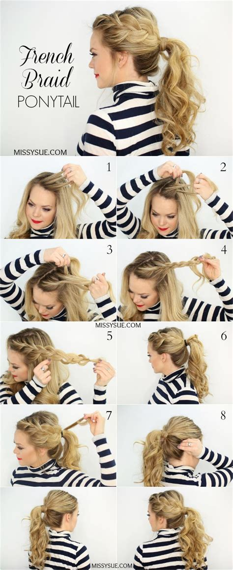 1920s side braid 18 cute french braid hairstyles for girls 2018 ponytail