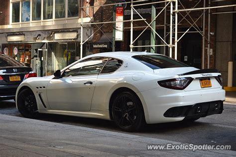 Maserati New York by Maserati Granturismo Spotted In Manhattan New York On 07