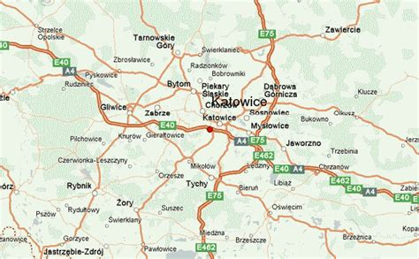 katowice map katowice location guide