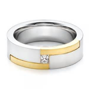 mens two tone wedding bands s two tone and wedding band 100123 bellevue seattle joseph jewelry