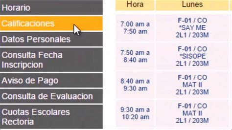 ver calificaciones ver calificaciones y horario en siase youtube