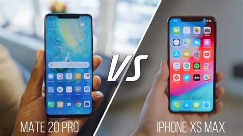 huawei mate  pro  apple iphone xs max comparison  depth gearopen