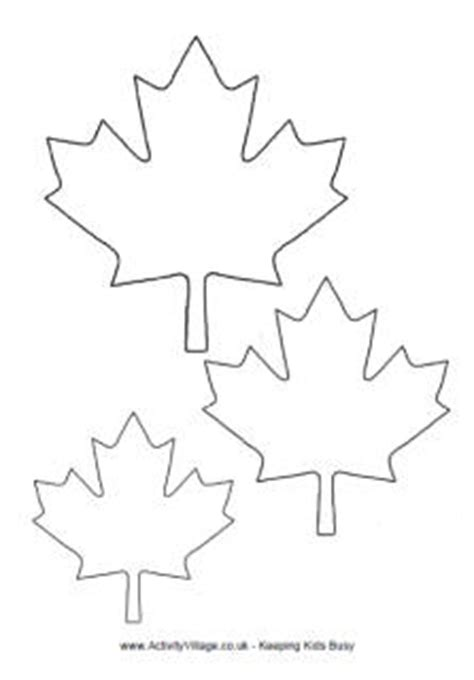 maple leaf cut out template things to do s page 2