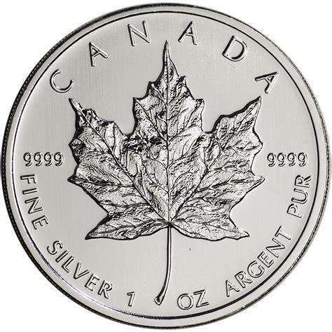 1 oz canadian maple leaf silver 2012 canada silver maple leaf 1 oz 5 bu ebay