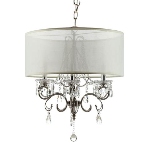 Chandelier Home Depot Homesullivan 6 Light Chrome Large Chandelier 40ok 5109h The Home Depot