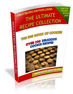 Book I Want Big Cookies by The Ultimate Recipe Collection A Unique Selection Of