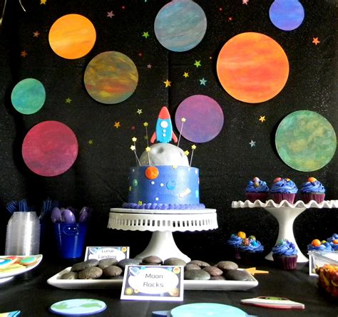 love themes for events 20 fabulous outer space party ideas for kids artsy