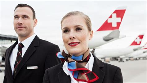 cabin crew member cabin crew member take professionally with swiss swiss