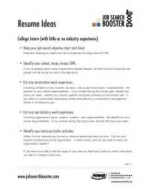 Resume Objective For Any Position by Resume Exles For Any Resume Format 2017