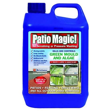 Brintons Patio Magic buy brintons patio magic weedkiller 2 5l from our