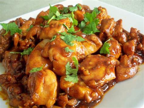 chicken course dishes korean chicken teriyaki yangnyom tak recipe food