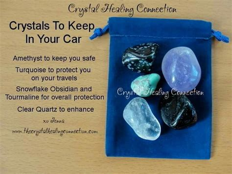 crystals  car travel protection